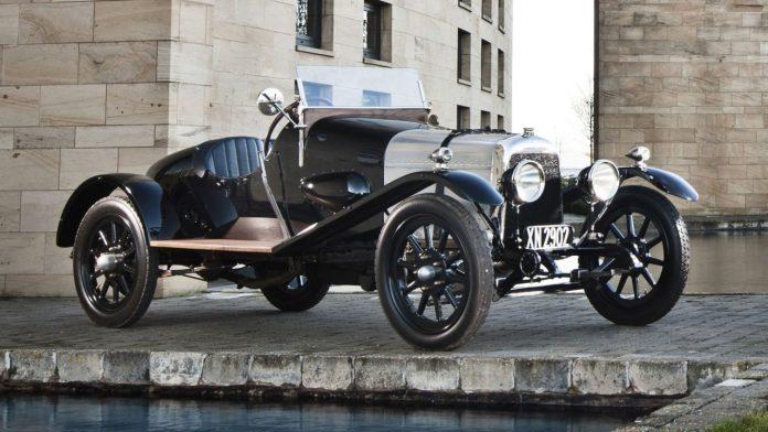 Aston Martin 'A3', la plus longue survivante de l'entreprise